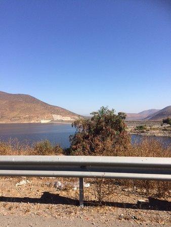 Coquimbo Region, Chile: Vista desde carretera D-55