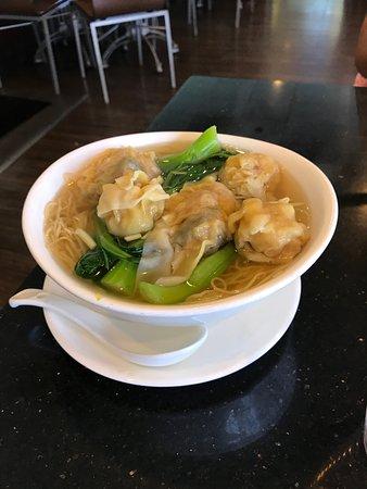 Cooking Papa: Shrimp Dumpling and Wonton Noodle Soup