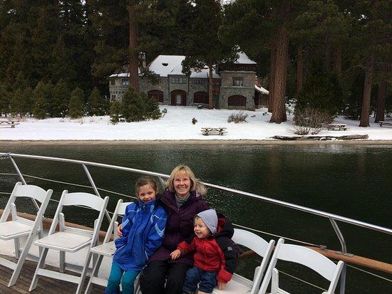 Bleu Wave Cruise: Vikingsholm Castle at Emerald Bay