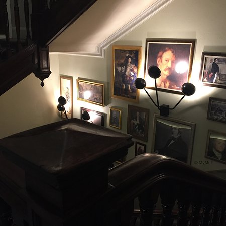 Decoración de la escalera