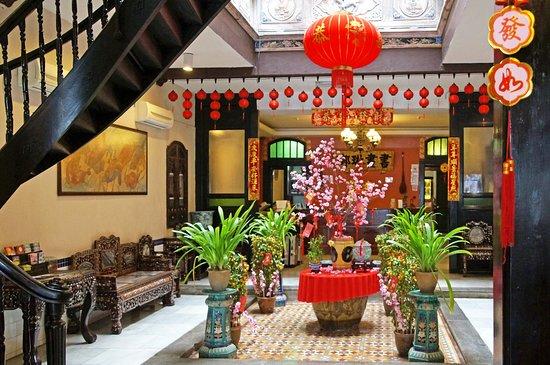 هوتل بوري ميلاكا: The hotel lobby