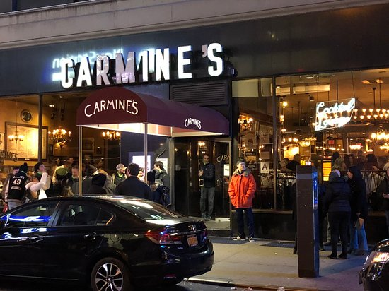 Carmine S Italian Restaurant Times Square Photo