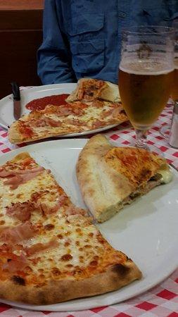 lit pizza and calzone picture of al vaporetto venice tripadvisor