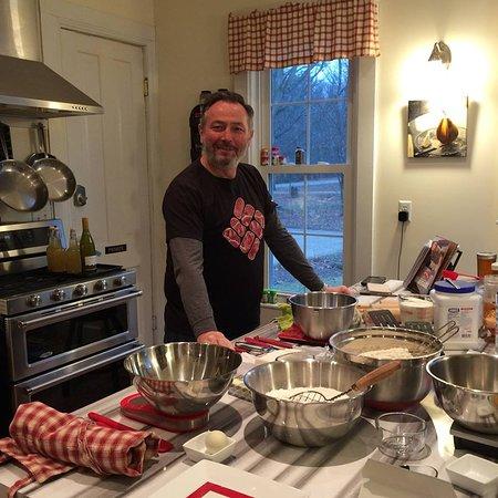 Montague, MI: Preparing to make pastry