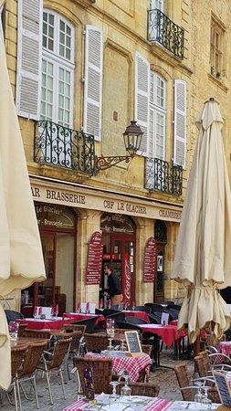 Brasserie Le Glacier: Terrasse Extérieure
