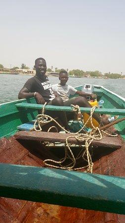 Happy Excursions Senegal: Balade en pirogue après déjeuner, un pur moment de détente