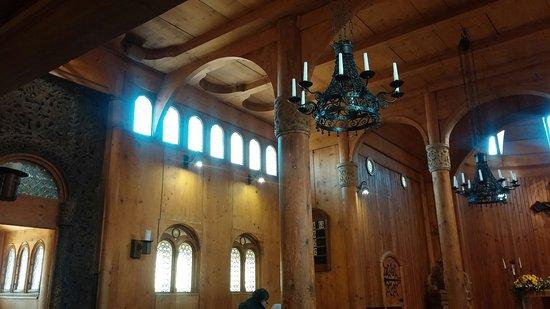 Iglesia pequeña pero con mucho encanto