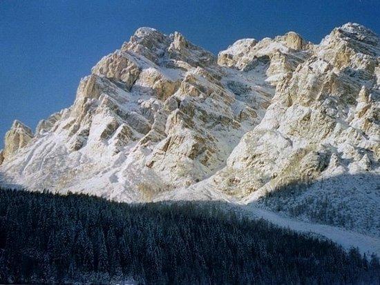 Monte Moiazza lato Val Zoldana