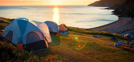 Rustic Rough Camping Experience Meat Cove Campground Cape Breton