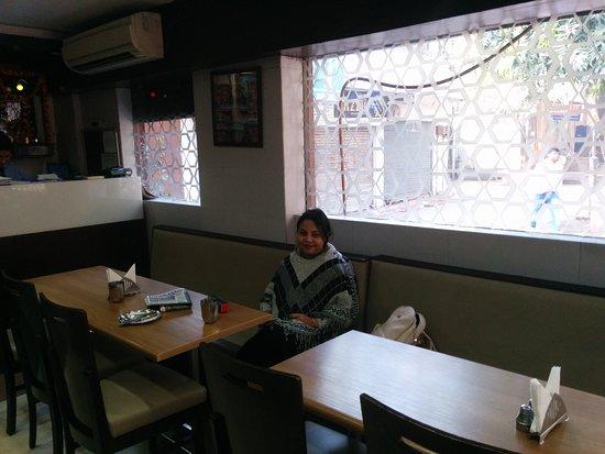 Sagar Ratna: Waiting for food to arrive