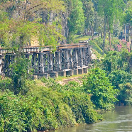 Traveling on the Death Railway Train -Original journey