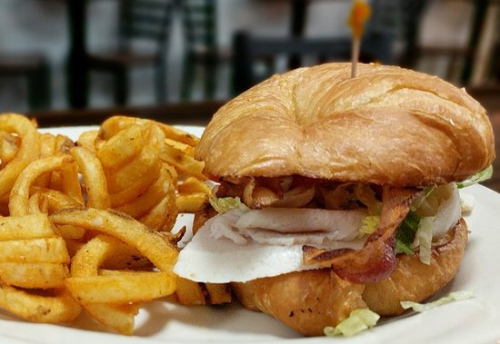 Lake City, MI: Turkey Bacon Croissant