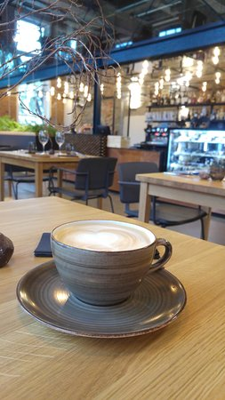 latte picture of restaurant juur tallinn tripadvisor. Black Bedroom Furniture Sets. Home Design Ideas