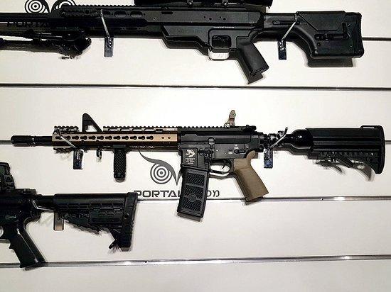 Portal Shooting Range: HPA airsoft M4