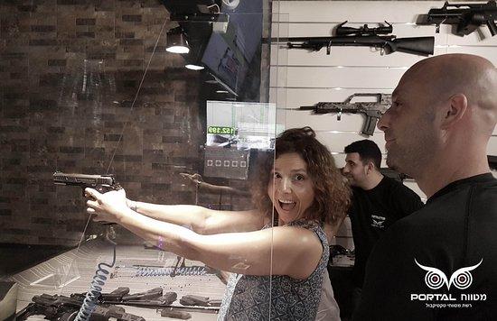 Portal Shooting Range: יום כיף במטווח פורטל