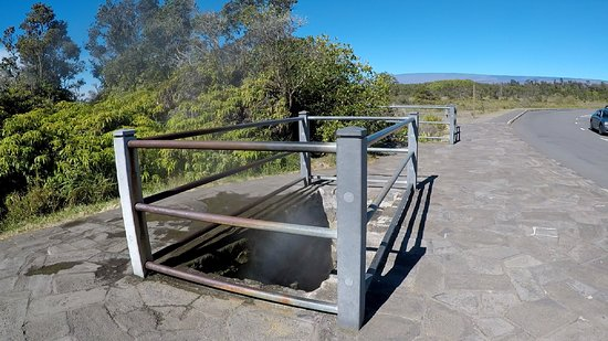 Pahoa, HI: Steam vents