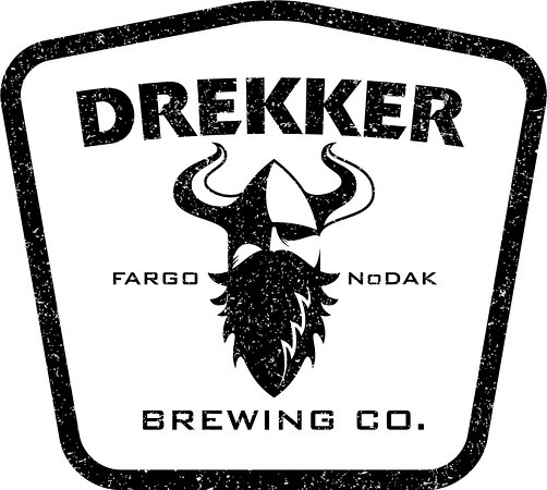 Fargo, ND: Drekker Brewing Company Logo
