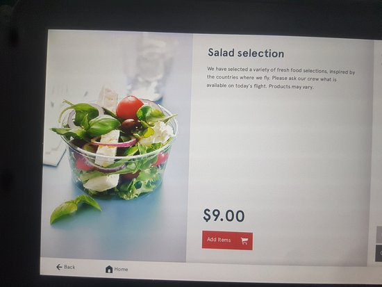Norwegian: One of only 2 items remaining on the flight