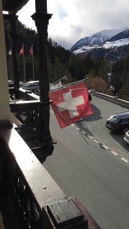 Vulpera, Schweiz: Balcony shot of the front