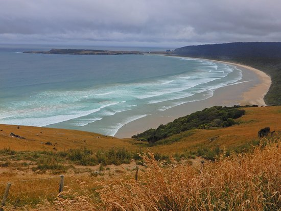 Papatowai, New Zealand: The view from Florence Hill.