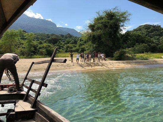 Mahale Mountains National Park, Tanzania: A native sendoff