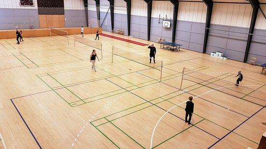 Gjern, Dinamarca: sports hall Landal Søhøjlandet