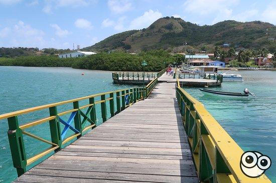 San Andres and Providencia Department, Colombia: Puente de los Enamorados