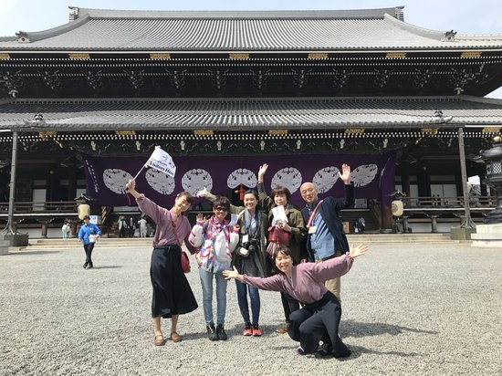 Higashi Hongan-JI Picture Card-Theater & Neighborhood Tour
