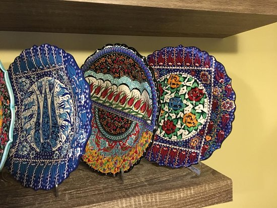Nanaimo, Canadá: Ceramic handmade plates