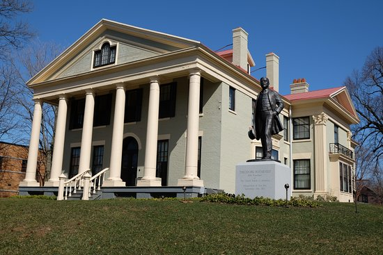 Theodore Roosevelt Inaugural National Historic Site: Outside of museum