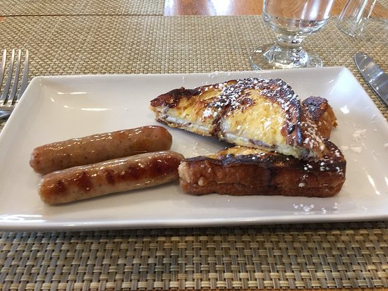 Youngberg Hill: Stuffed French toast and Sausage
