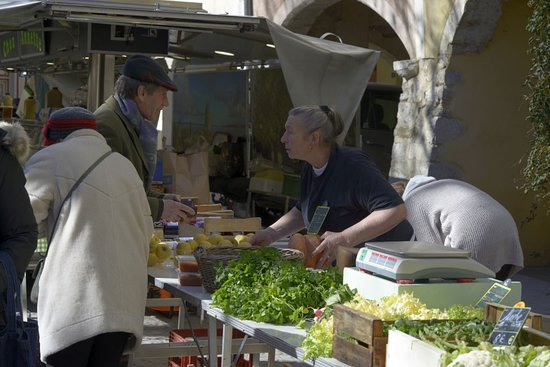 Der Mittwochsmarkt von Buis-les-Baronnies
