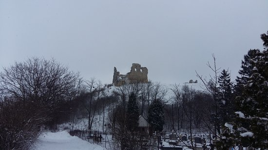 Dobronte, Hongarije: Castle view from outside the hotel
