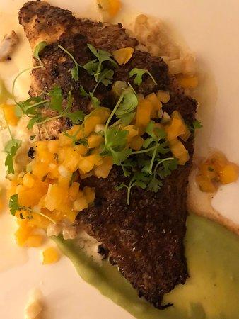Circa 1886 Restaurant: Kaffir Lime Catfish
