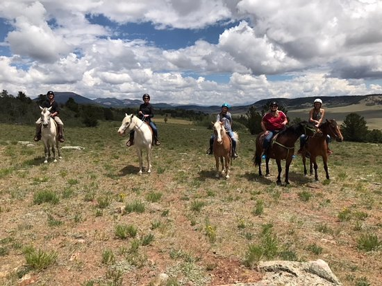 Fairplay, CO: Out for a ride at American Safari Ranch