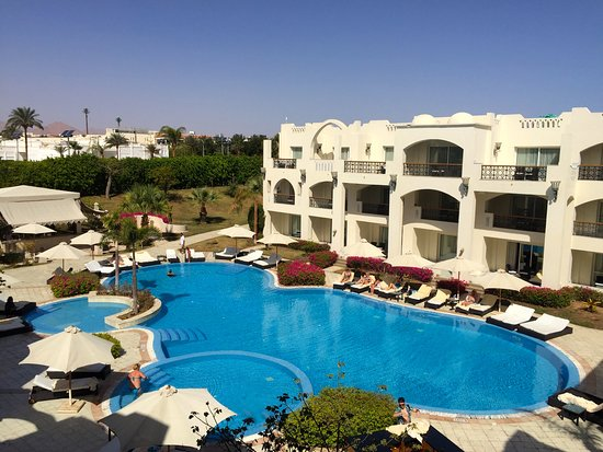 Le Royale Sharm El Sheikh, a: View from my balcony