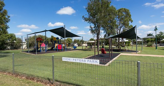 Emerald, Australia: Covered playground for the kids