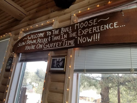 Guffey, CO: The Bull Moose Restaurant & Bar