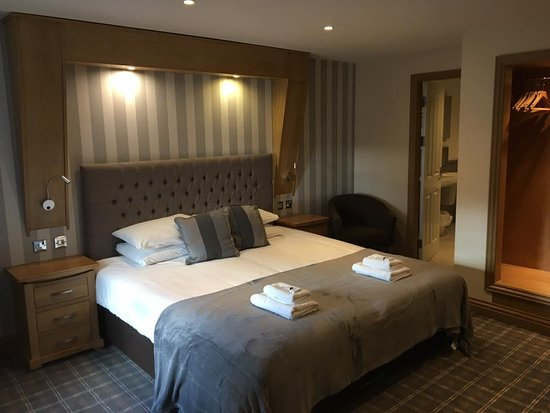 Sanquhar, UK: Deluxe Room is superb.