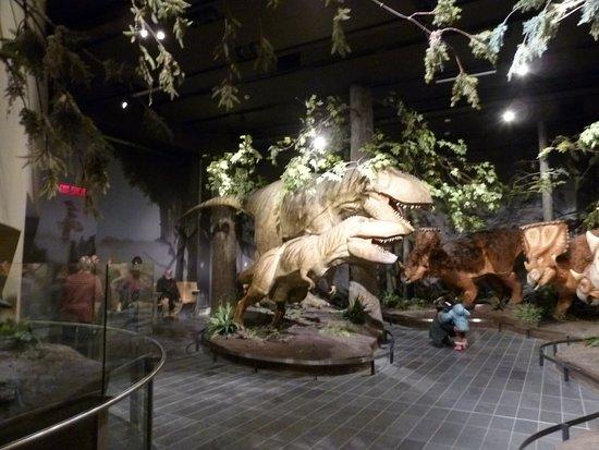 Ottawa, Canadá: Reconstitution de dinosaures.