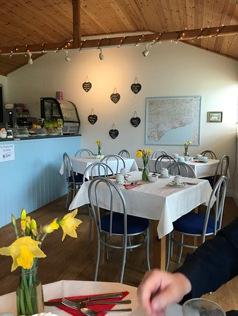 Wilmington, UK: Inside tearoom