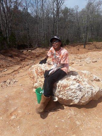 20180402_120748_large jpg - Picture of Diamond Hill Mine