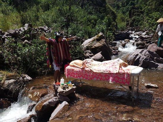 Shamanic Massage in nature