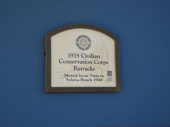 Solana Beach, CA: Historic Barracks