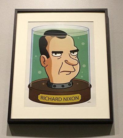 Yorba Linda, CA: Nixon in pop culture