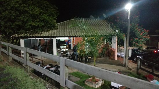 Santo Expedito, SP: Vista do restaurante