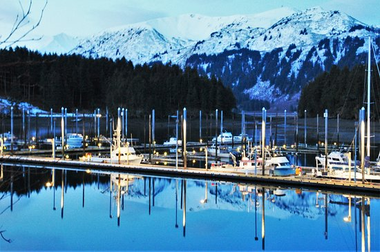Seldovia, AK: View from windows of marina