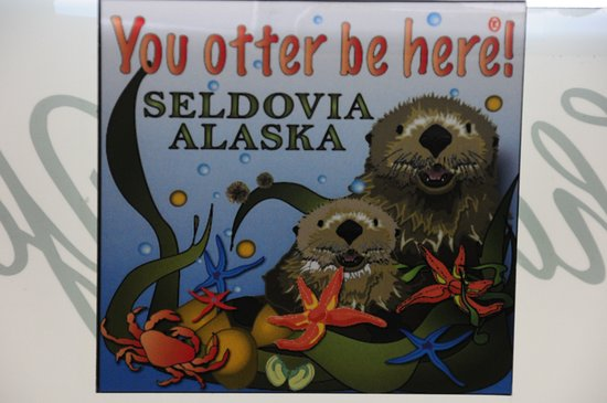 Seldovia, AK: You otter be here!