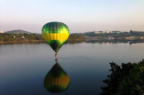 Hot Air Balloon Flight over Putrajaya
