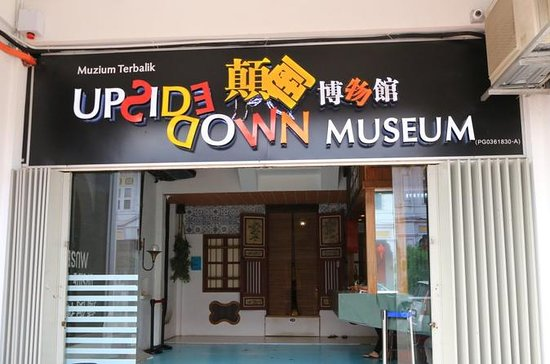 Penang Half Day Tour With Upside down...